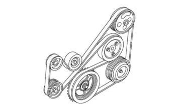 Ремень навесных агрегатов 1